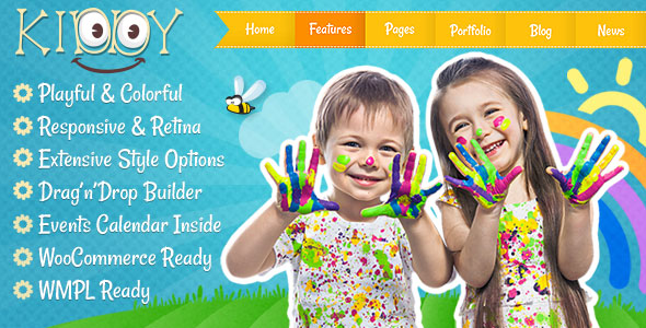 Kiddy 儿童 WordPress主题