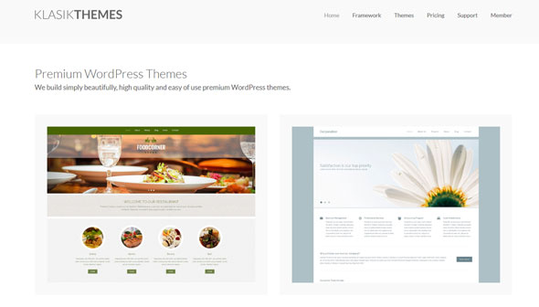 KlasikThemes 26个博客杂志企业WordPress主题包