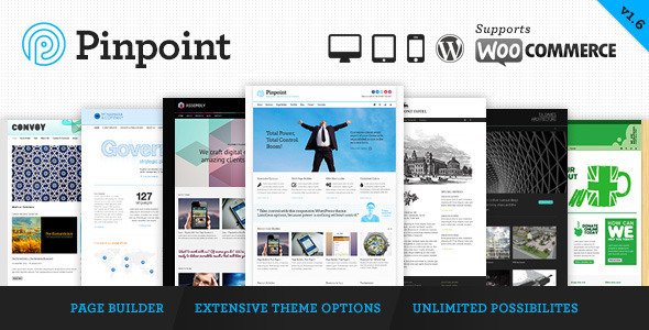 Pinpoint 响应多用途 WordPress主题[更新至v1.7]