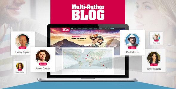 Multi-Author 博客 WordPress主题 v1.4.0