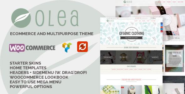Olea 创意工艺礼品 WordPress主题 v1.0.8