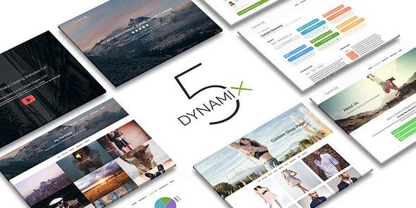 Dynamix 经典企业 WordPress主题[更新至v5.0.2]
