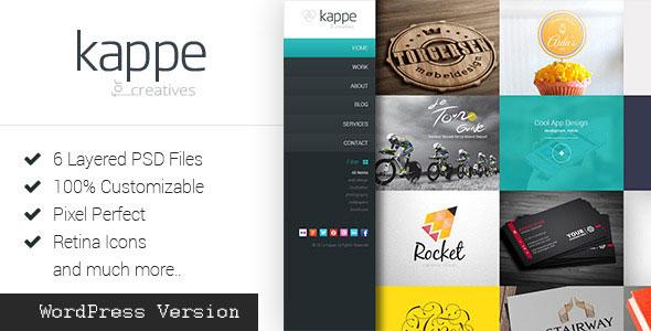 Kappe 全屏作品展示博客 WordPress主题 v1.6