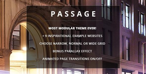 Passage 多用途 wordpress主题[v1.6]