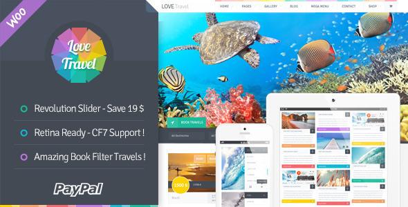 Love Travel 创意旅行社 WordPress主题 v2.4