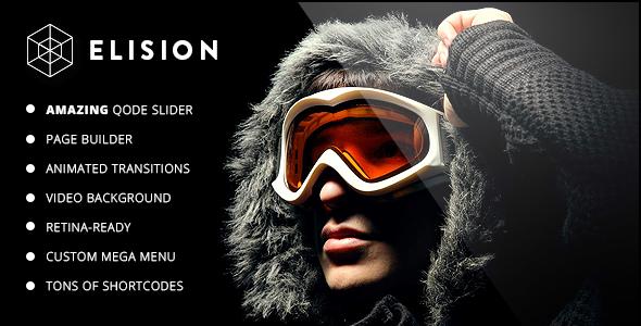 Elision 创意商务企业 WordPress主题[更新至v2.9]
