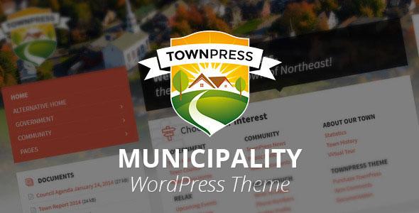 TownPress 新闻 WordPress主题 v1.1.9