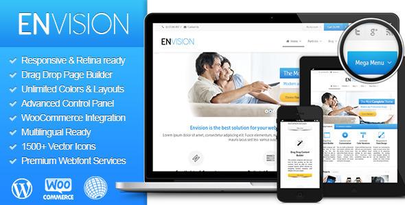Envision 自适应多用途 WordPress主题[v2.0.9.5]