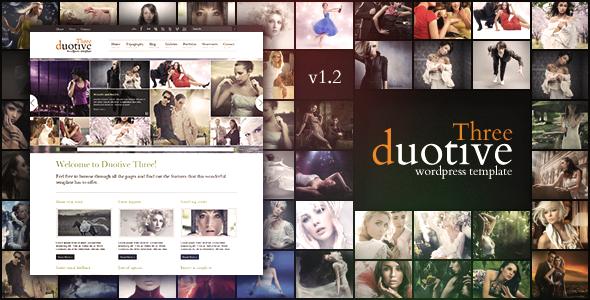 Duotive Three WordPress商业主题免费下载v1.6.5