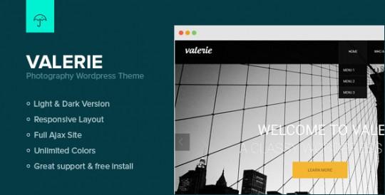 Valerie 摄影 WordPress主题[更新至v2.7.2]