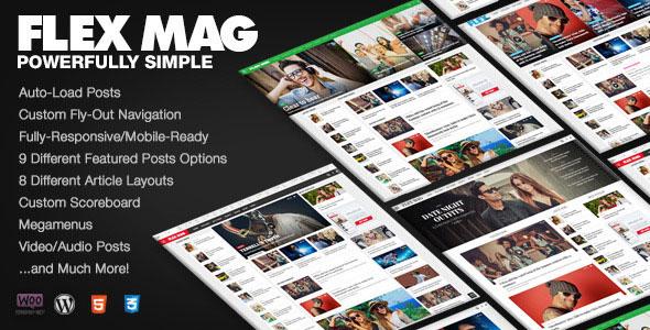 Flex Mag 新闻 WP主题 v1.0.5