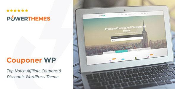Couponer 折扣优惠券 WordPress主题 v2.6