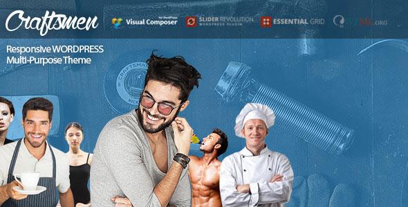 Craftsmen 多用途企业 WordPress主题 v1.0.3
