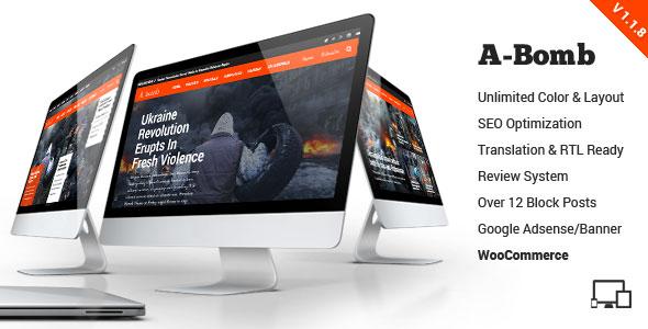 A-Bomb 新闻杂志 WordPress主题 v1.1.7