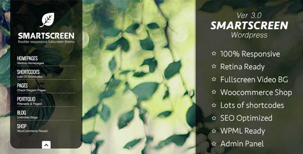 SmartScreen 全屏自适应 WordPress主题 v3.0.8