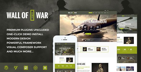 Military 军事 WordPress主题 v1.2