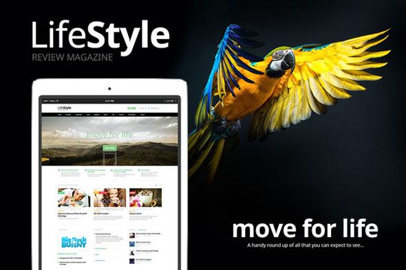 LifeStyle 评分杂志新闻 WordPress主题 v1.1