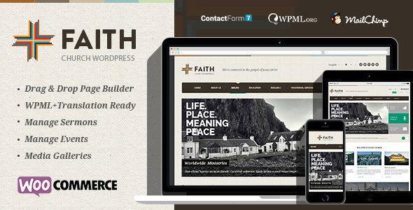 Faith 多用途 WordPress主题
