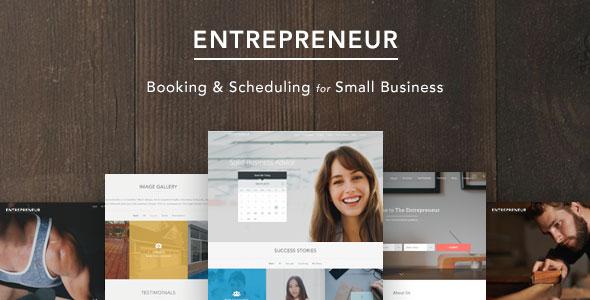 Entrepreneur 商务预订 WordPress主题 v1.0.9
