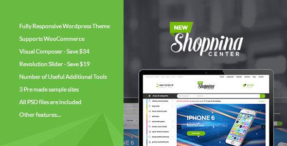 Newshopping 购物商城 Woocommerce主题 V1.4