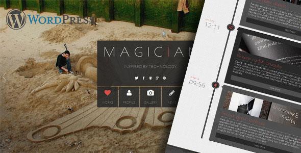 Magician 视差 WordPress主题 v2.0