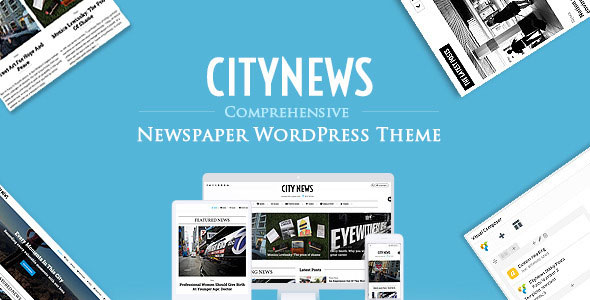 CityNews 新闻杂志 WordPress主题