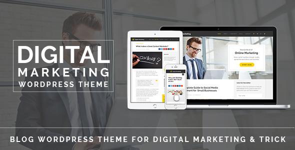 Digital Marketing 数码营销 WordPress主题