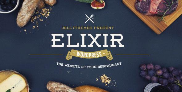 Elixir 餐饮美食 WordPress主题 v1.3