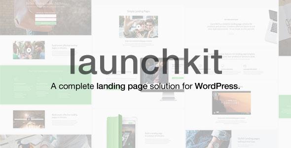Launchkit 着陆页/营销 WordPress主题 v1.1
